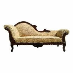 Hand Carved Wooden Sofa Lounge, For Home Use, Size: 60 X26 X45