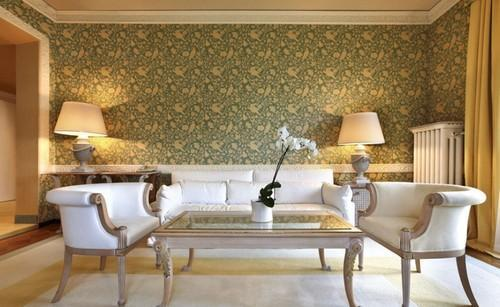 Wallpaper Designs For Living Room Wall marierogetcom