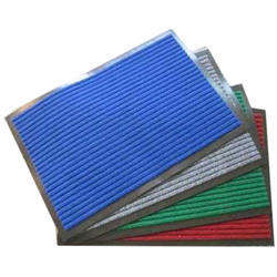 PVC Blue And Green And Red Rib Mat