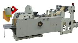 White Craft Paper Bag Machine
