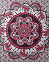 Indian Ethnic Embroidered Cloth Elephant Wall Hanging