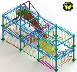 Double Layer 8 Pole Rope Course