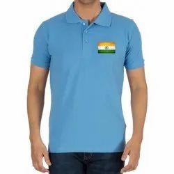 Blackster Cotton 15 August Tri Colour T-shirts