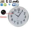 WiFi Spy Wall Clock Camera