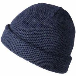 Blue Woollen Cap