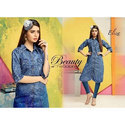 Cotton Denim Kurti
