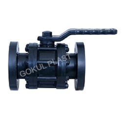 Flange End HDPE Ball Valve, Model: 3 Pipec, Size: 15mm To 315mm