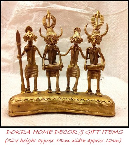 Handcrafted Dokra Home Decor Truly Tribal Art Is Of Indus Valley Civilization
