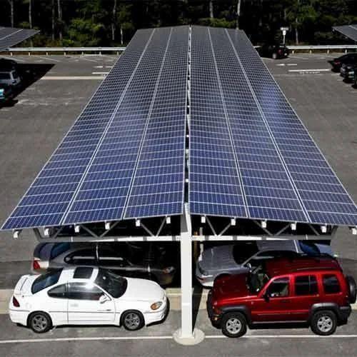Solar Carport at Rs 40000/kilowatt | Solar Carports | ID: 14702676048