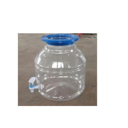 Polyethylene Terephthalate Plastic Water Dispenser Jar