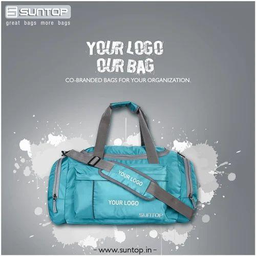 8b83f1f51141 Travel Bags - Suntop Alive Duffel Bag (Oxford Blue Colour) Manufacturer  from Delhi