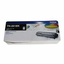Black Laser TN-261BK Brother Printer Cartridge, Packaging Type: Box