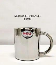 Med Sober D Handle Mug