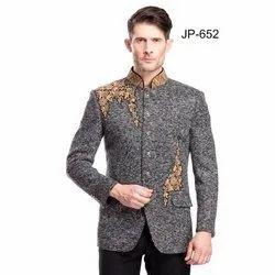 Diwan Saheb JP-652 Mens Embroidered Jodhpuri Blazer