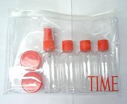 Transparent - Opaque - Frosted pvc zip bags