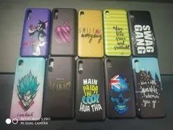 TPU PC PRINTED MOBILE BACK COVERS