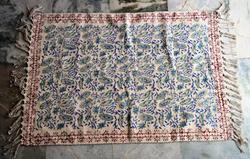 Floral Block Printed Cotton Rugs