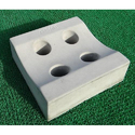 Square Perforated Saucer Drain
