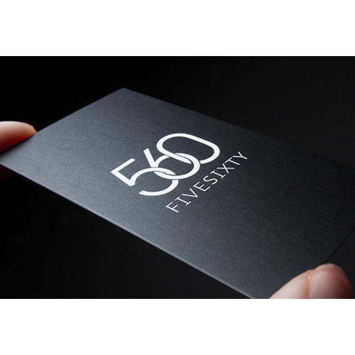 Matte finish business card at rs 12 piece matte finish business card colourmoves Choice Image