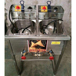 Stainless Steel Deep Fryer Kitchen Equipment