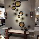 Metal wall art with contemporary look