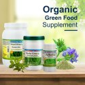 Organic Green Herbal Food Supplement