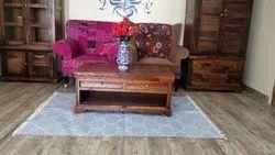 Cotton Punja Dhurrie Handwoven Floor Area Rug