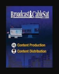 Broadcast and Cablesat B2B Magazines Publisher Service