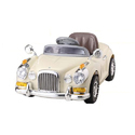 Plastic Battery Operated Antique Car