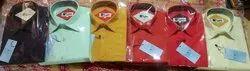 Collar Neck Printed Mens Cotton Shirts