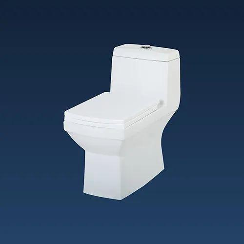 Single Unit Ceramic Toilet Seat