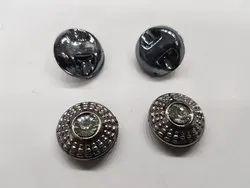 Plastic Round Designer Button for Suits