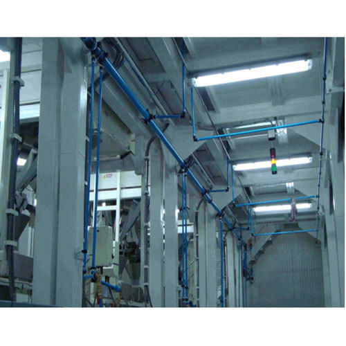 Modular Compressed Air Piping System