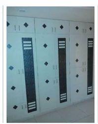 Wall Wooden Almirah Design
