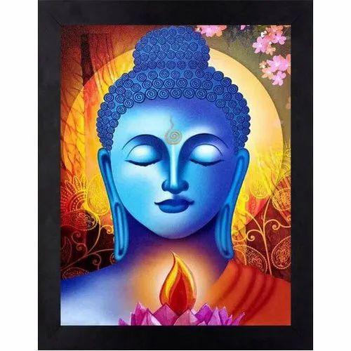 Craftsfest Modern Art Buddha Framed Uv Digital Painting Rs 99 Piece Id 20931931730