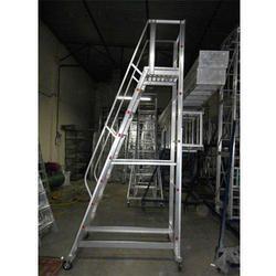 SKL Aluminum Trolley Step Ladder