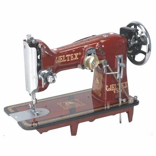 SemiAutomatic Weltex Zigzag Piko Embroidery Sewing Machine Rs Stunning Zig Zag Sewing Machine