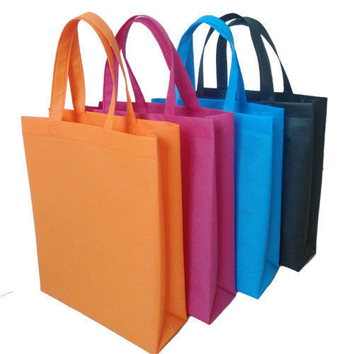 Polypropylene Recyclable Non Woven Box Bag With Loop Handle, Thickness: 70-120, 100% Virgin