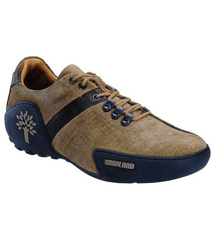 Casual Woodland Leather Shoes
