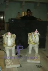 Exceptional Marble Elephant