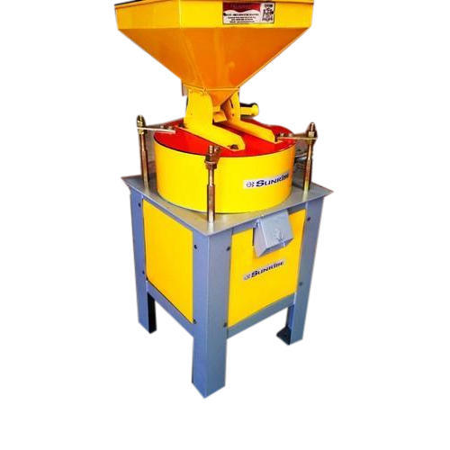 Iron Yellow Sunrise Flour Mill Machine