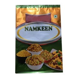 Namkeen Packaging Laminated Pouch