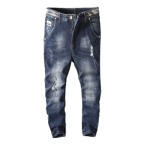 Men Faded Joggers Party Wear Jeans, Waist Size: 28-38