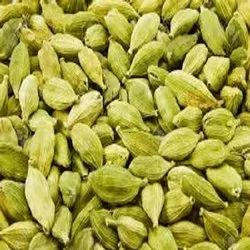 Green Cardamom, Whole, Cardamom Size Available: 8 mm