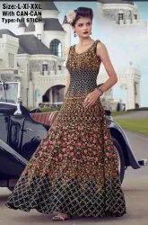 Beautiful Embroidered Gown