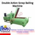 Double Action Scrap Bailing Machine