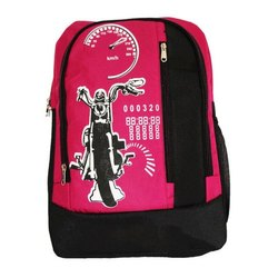 Polyester 14L Kids School Bag, Capacity: 14 Liters