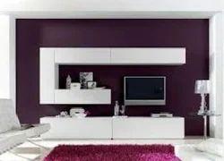 Wooden Modular TV Cabinet Design Service