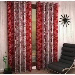 Cotton Plain Fancy Window Curtains