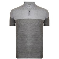 Mens Cotton Casual Wear Polo Neck Knitted T-Shirt